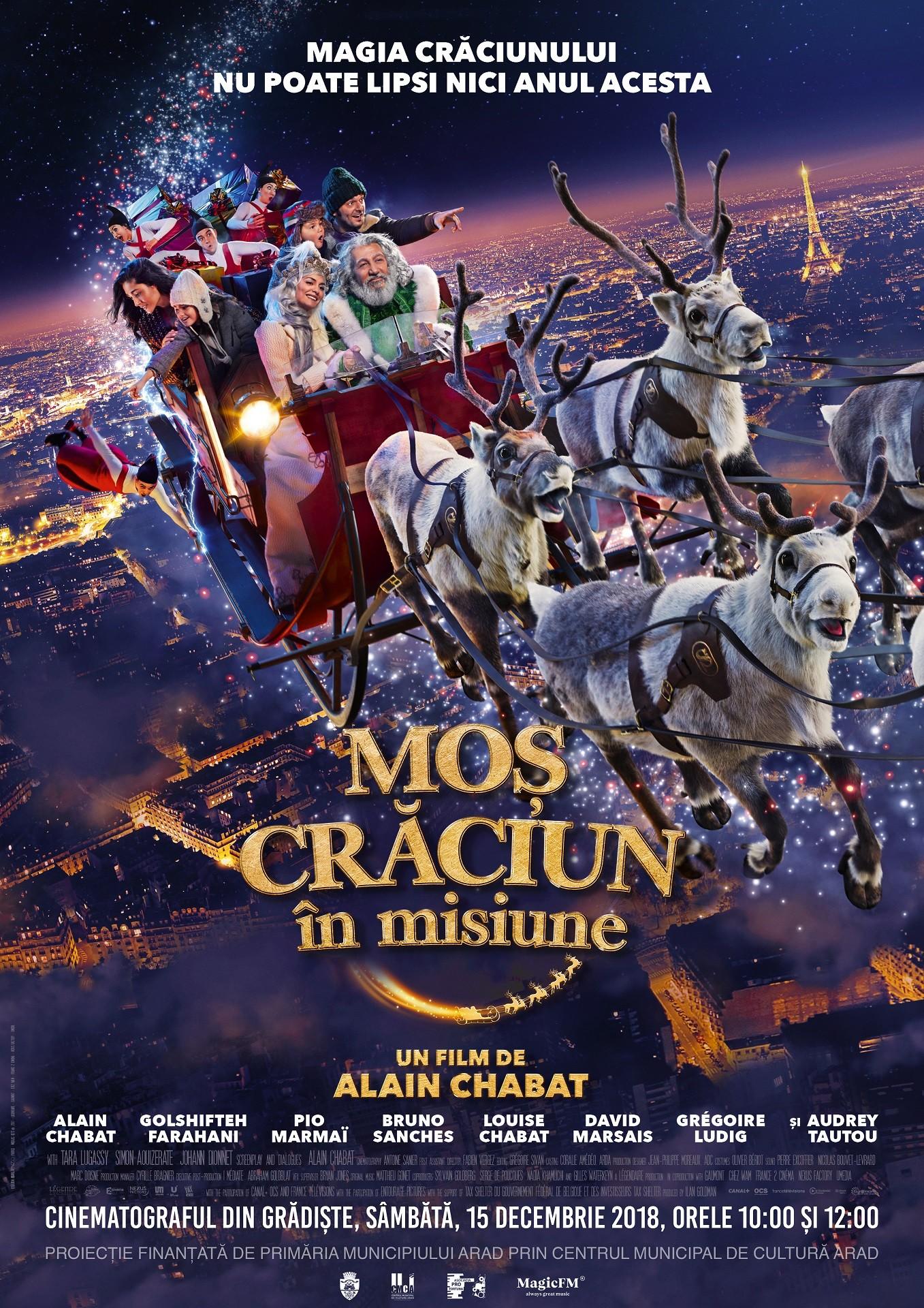 """""""Moș Crăciun în misiune"""", ultima proiecție din 2018, la Cinema """"Grădiște"""""""