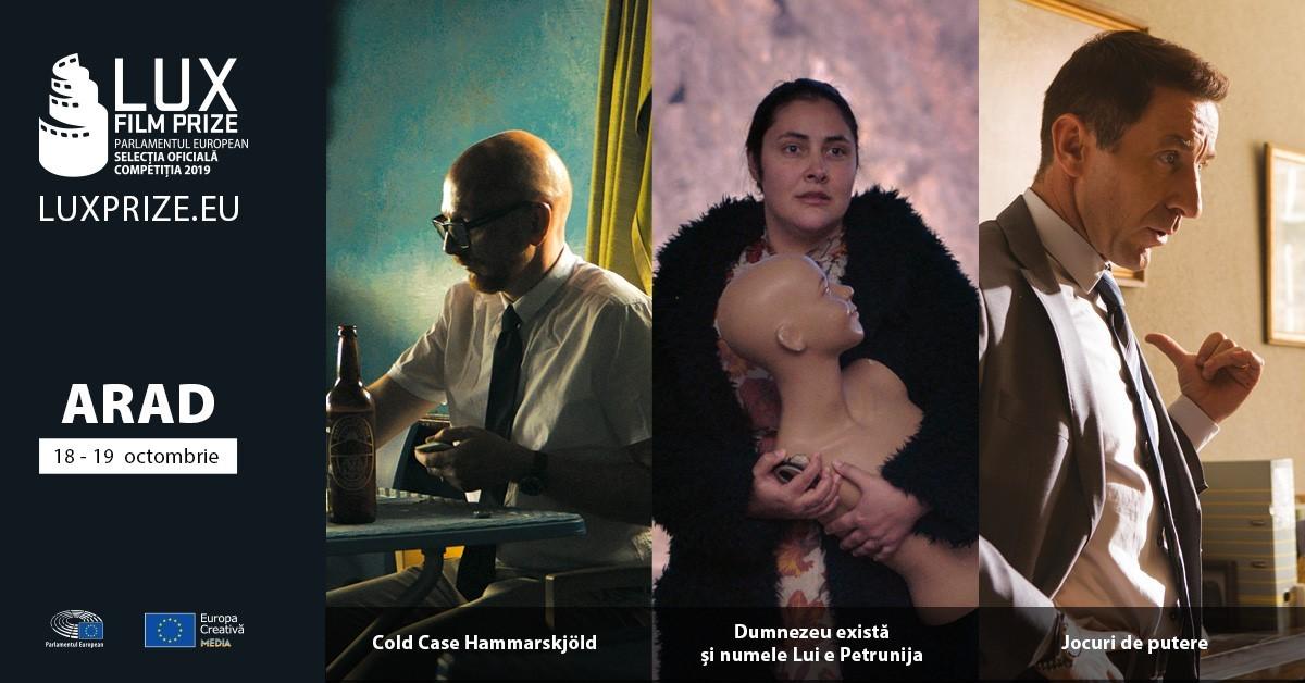 Zilele Filmului LUX 2019 debutează la Arad în perioada 18 - 19 octombrie