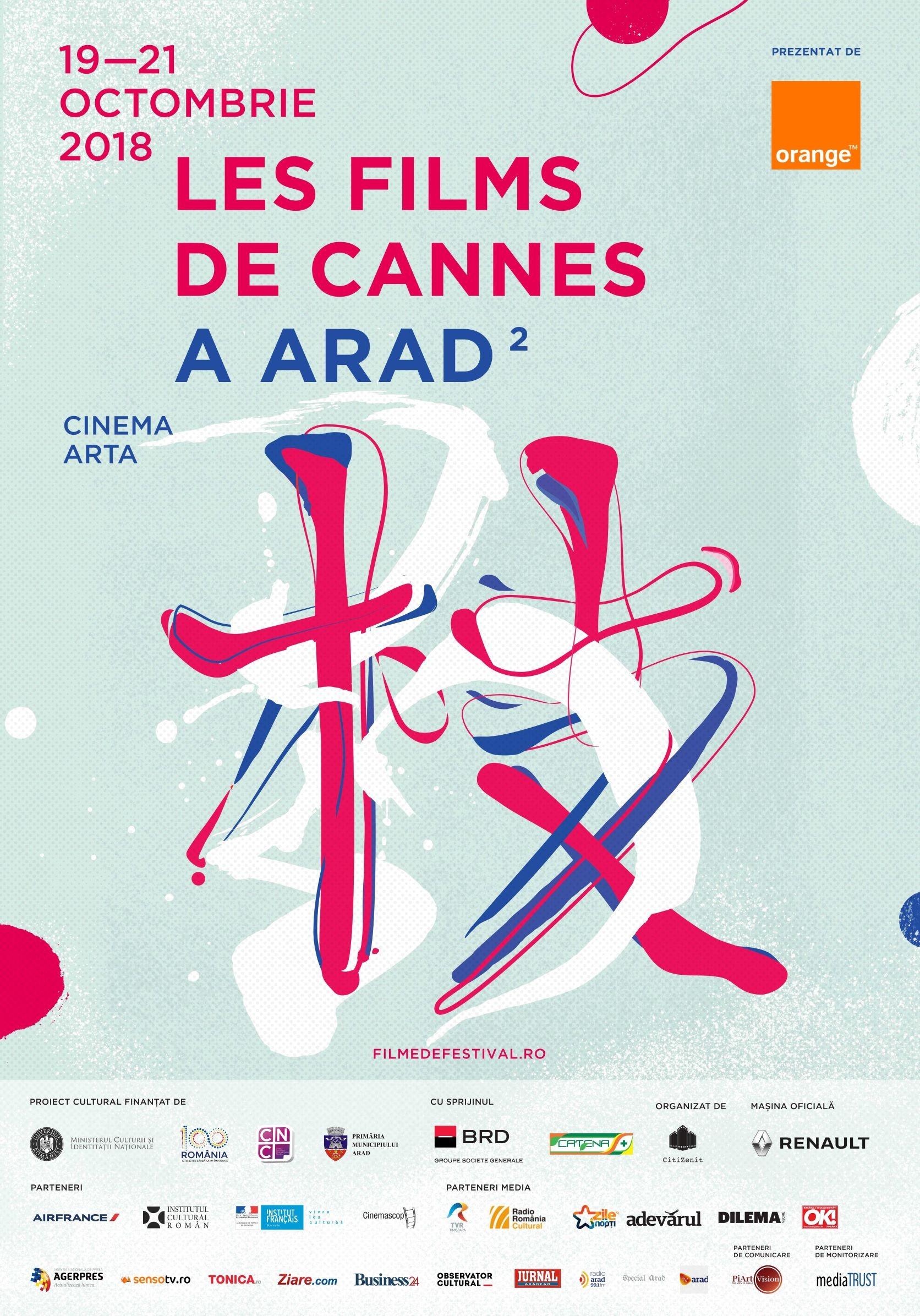 Les films de Cannes se întoarce la Arad