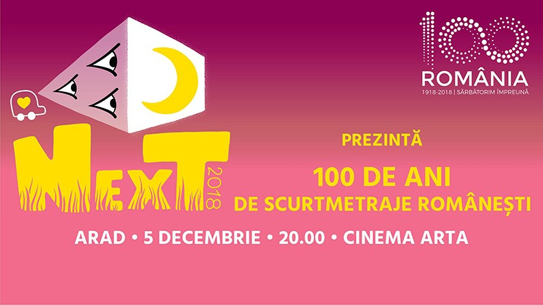 "Caravana NexT: ""100 de ani de scurtmetraje românești"" la cinema Arta"