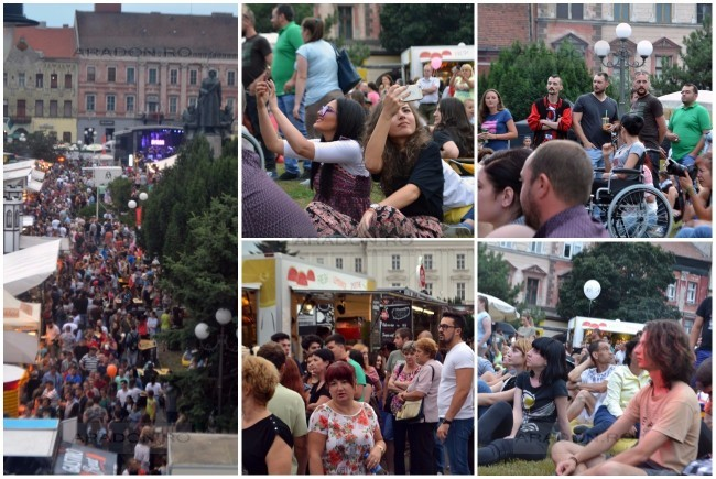 Outdoor gourmet festival - STREETFOOD ARAD, Second Edition