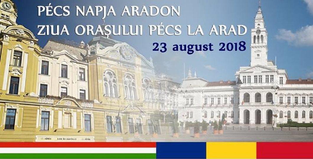 Ziua orașului Pécs la Zilele Aradului