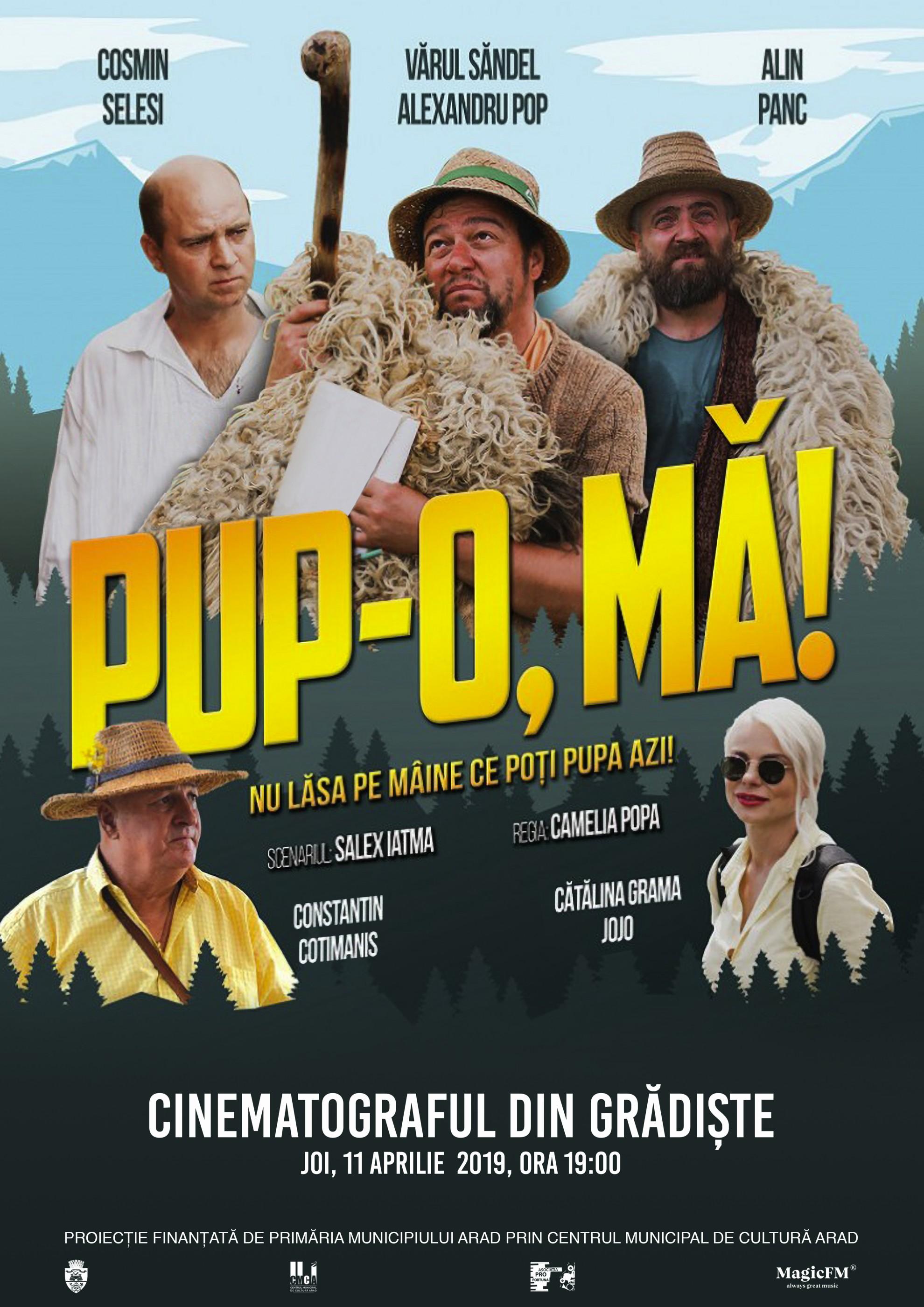 """""""Serile filmului românesc"""", la Cinematograful din Grădiște"""