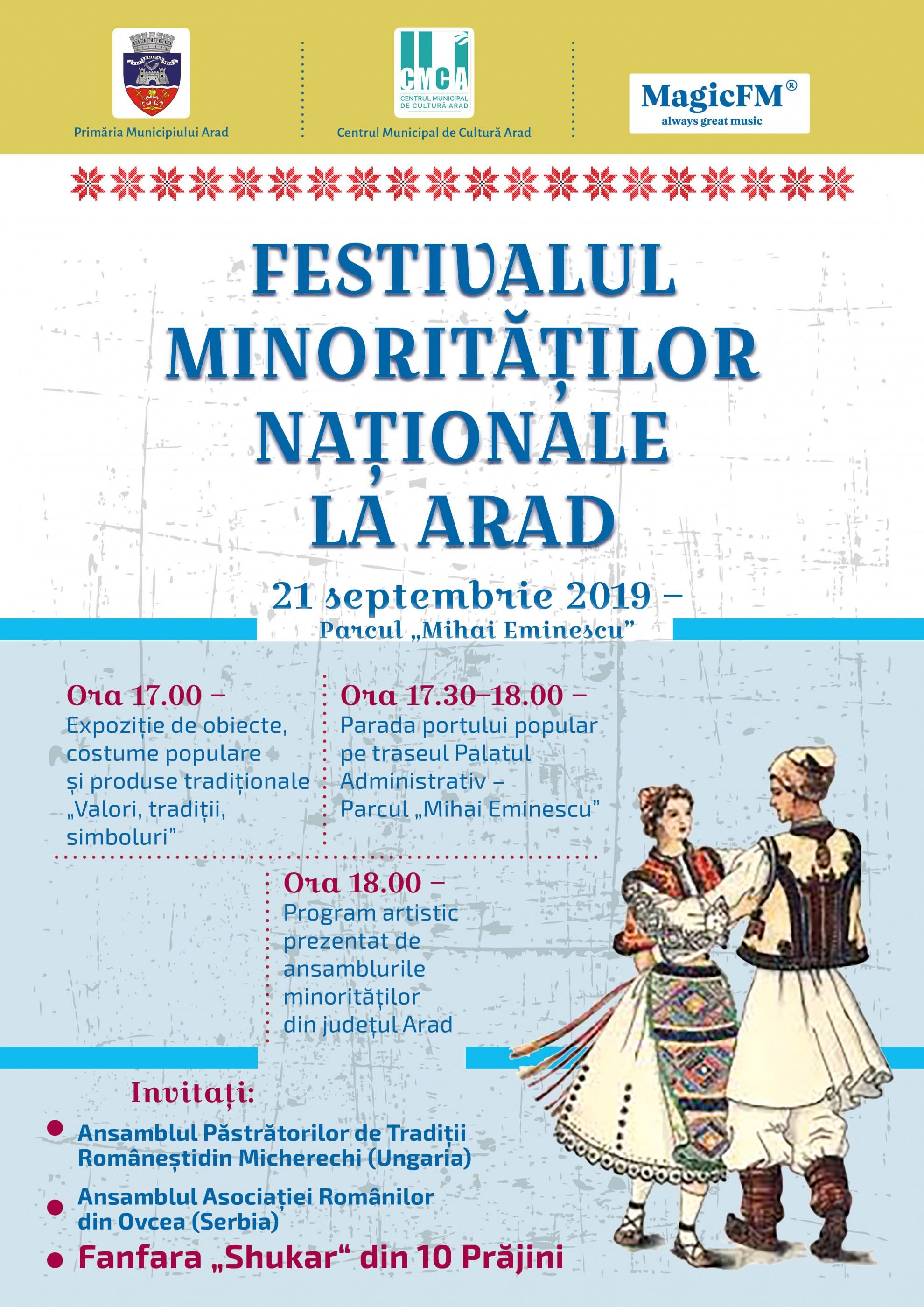 Festivalul Minorităţilor Naţionale la Arad, ediţia 2019