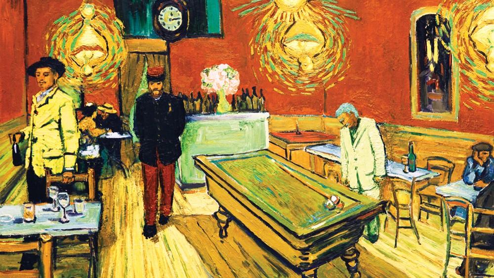 Van Gogh, pe ecranul de la cinematograful Arta