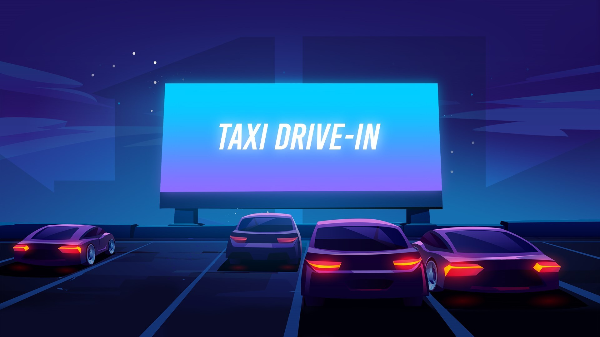Taxi Drive-In în grădina de vară a cinematografului Arta