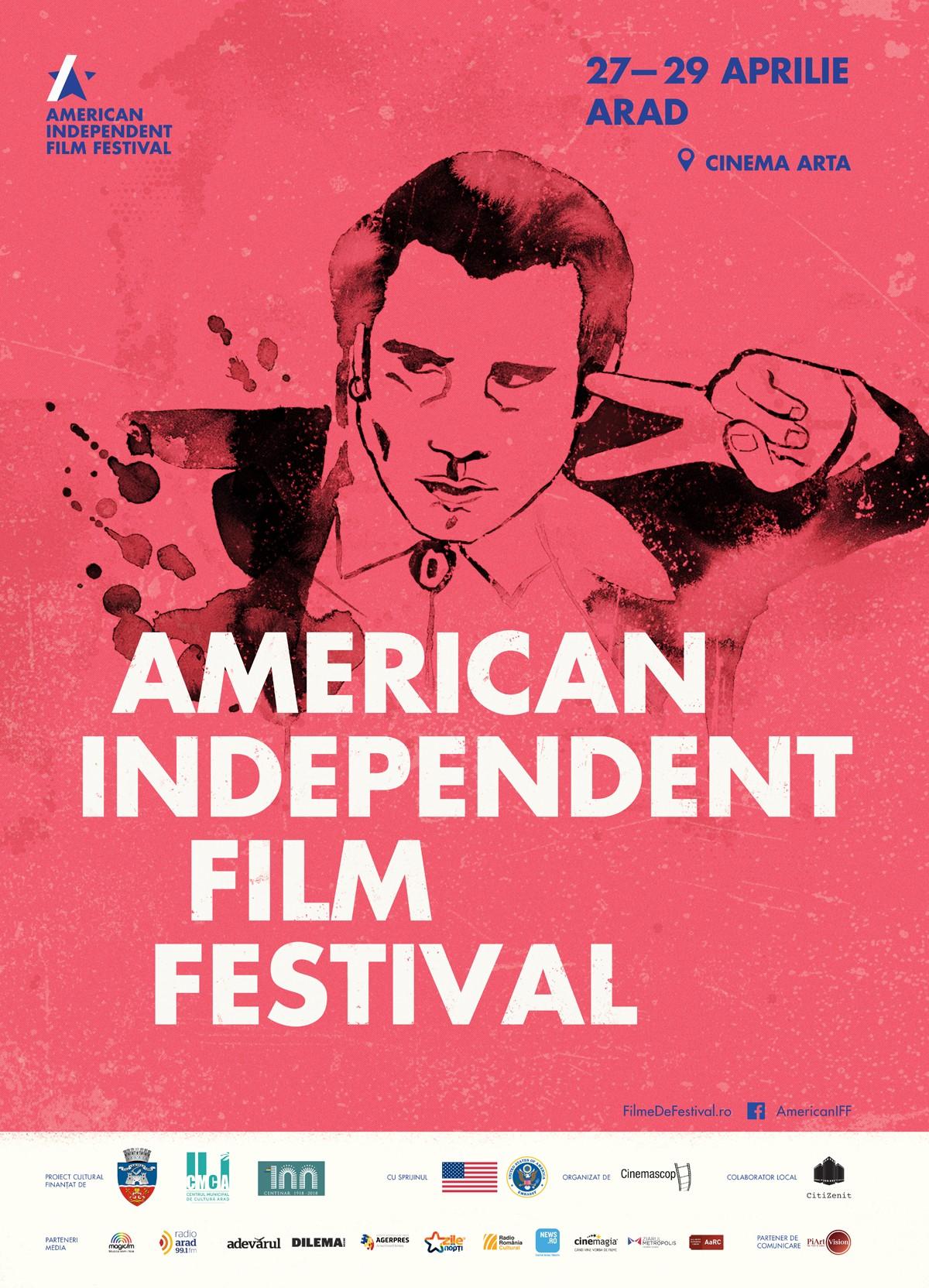 American Independent Film Festival în premieră la Arad 27 – 29 aprilie