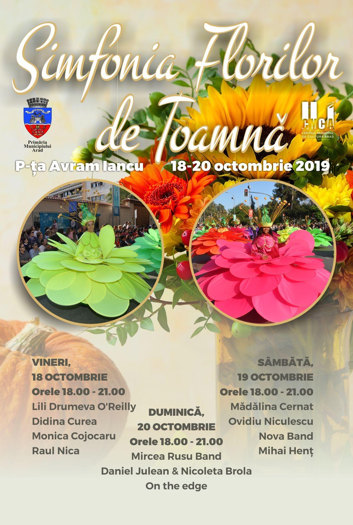 Festivalul Simfonia Florilor de Toamnă, ediția a II-a, la Arad