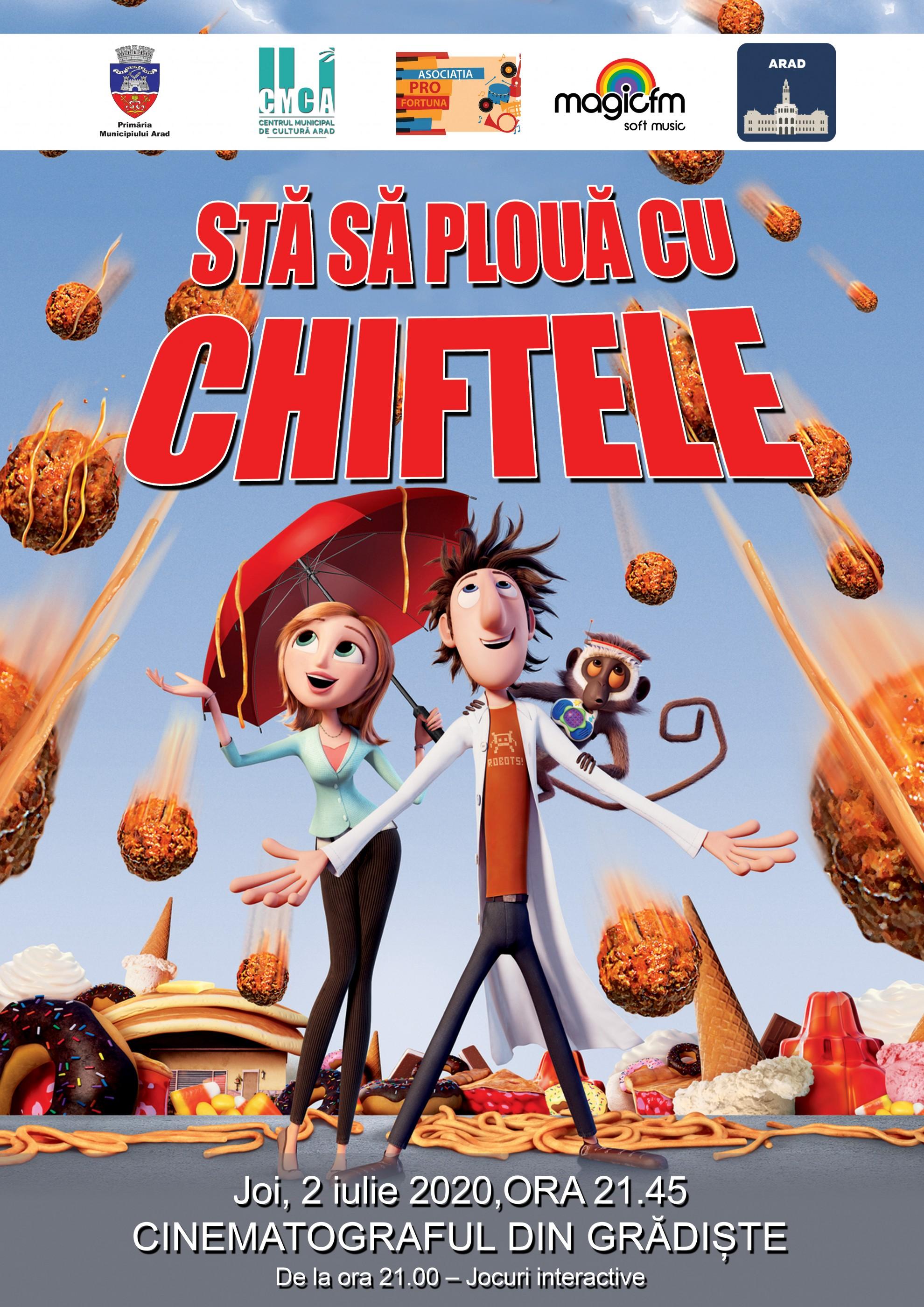Seri de filme în aer liber pentru copii, la cinematografele din cartierele Grădiște și Gai