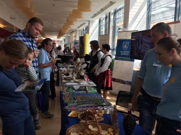 """Aradul, reprezentat la """"Open Day – Ziua porţilor deschise la instituţiile europene din Bruxelles"""""""