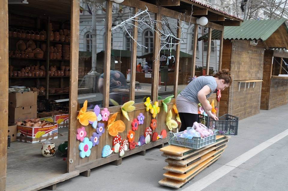 Preparations for the Spring Fair, the 2018 Edition