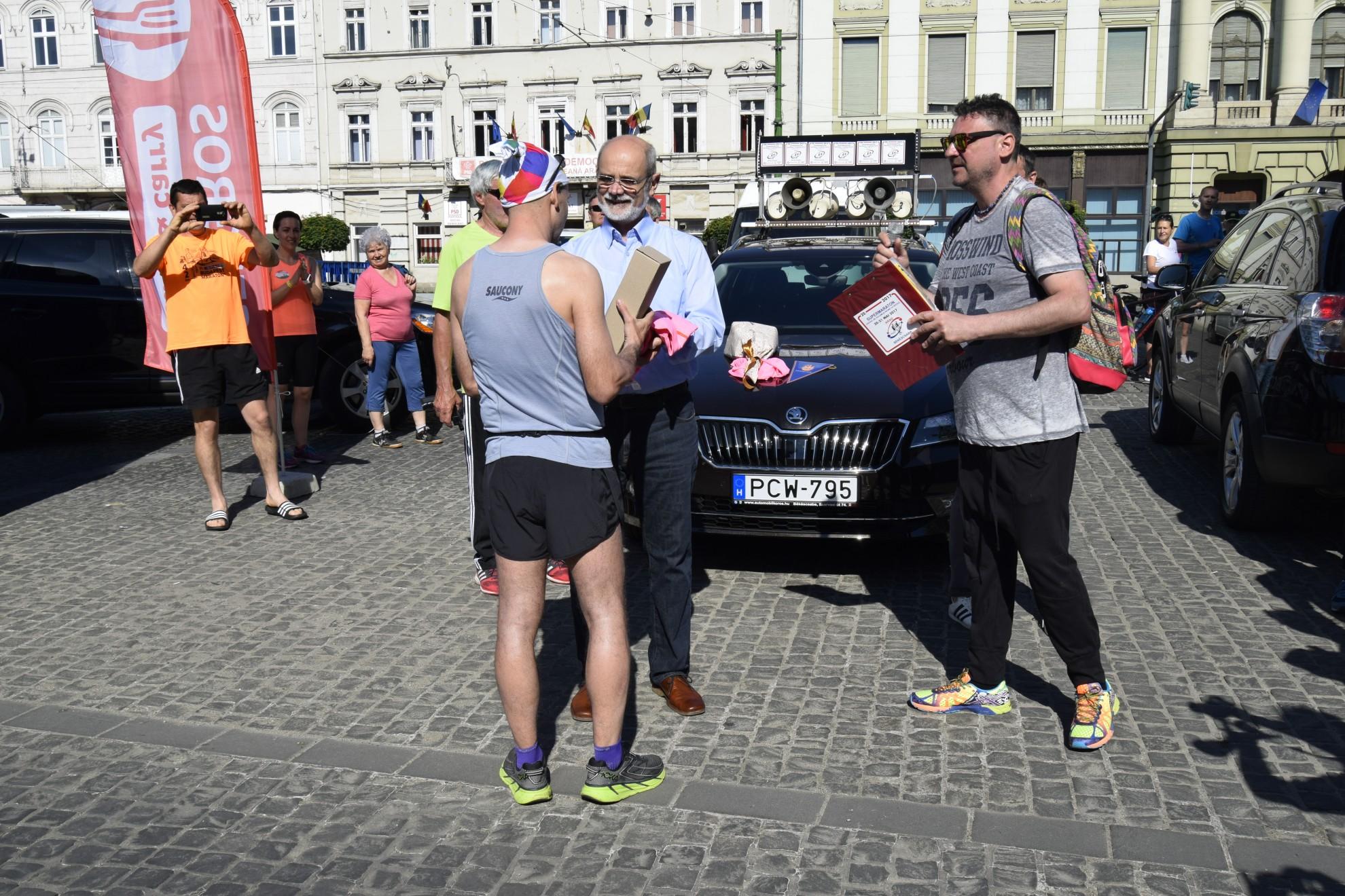 Supermaratonul Granițe deschise Arad-Békéscsaba-Arad, ediția a XXI-a