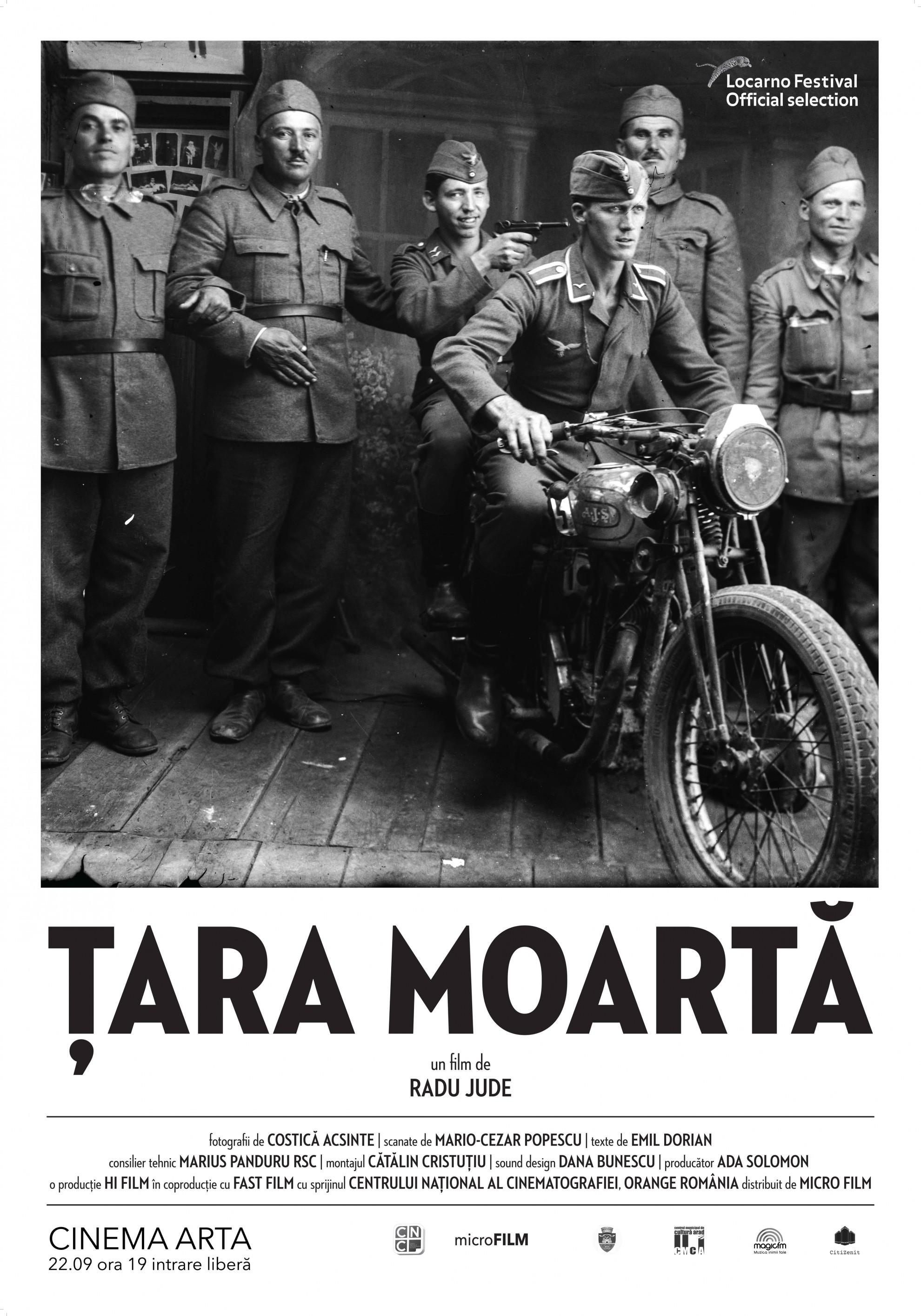 ŢARA MOARTĂ, un documentar îndrăzneț va fi proiectat la cinema Arta