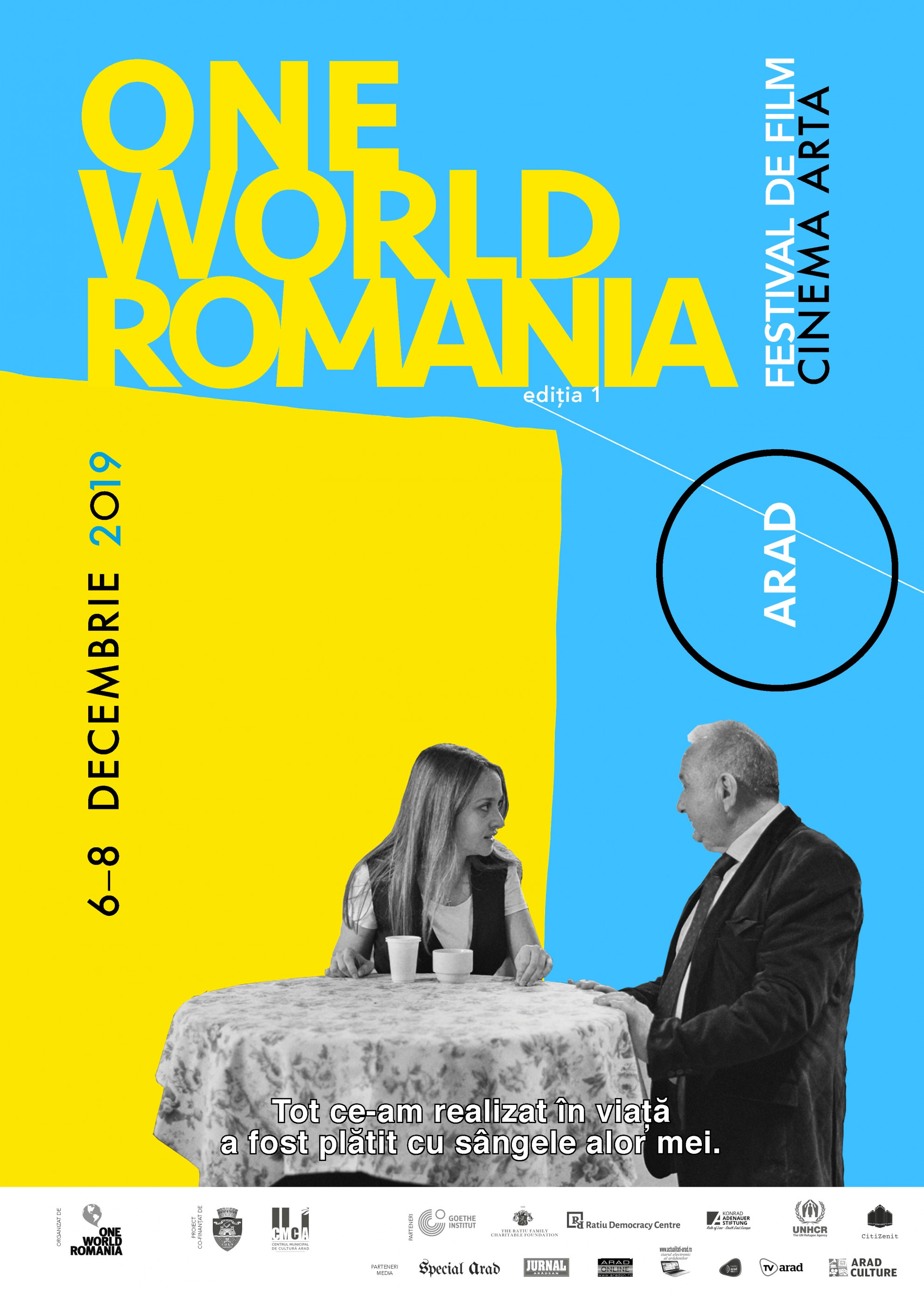 Prima ediție One World Romania la Arad