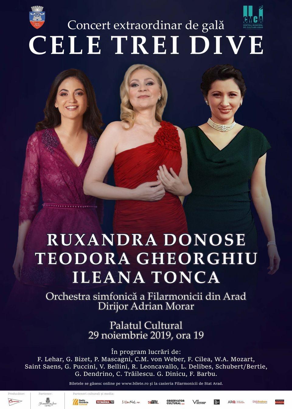 CELE TREI DIVE pe o scenă cu istorie din România