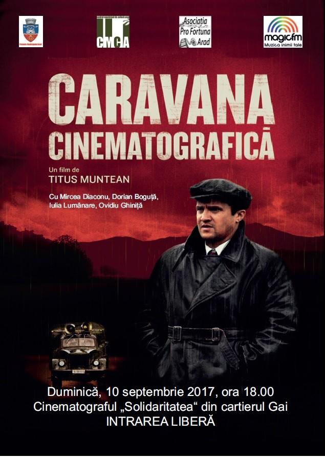 Caravana cinematografică – un nou film care va fi proiectat la cinematograful din Gai