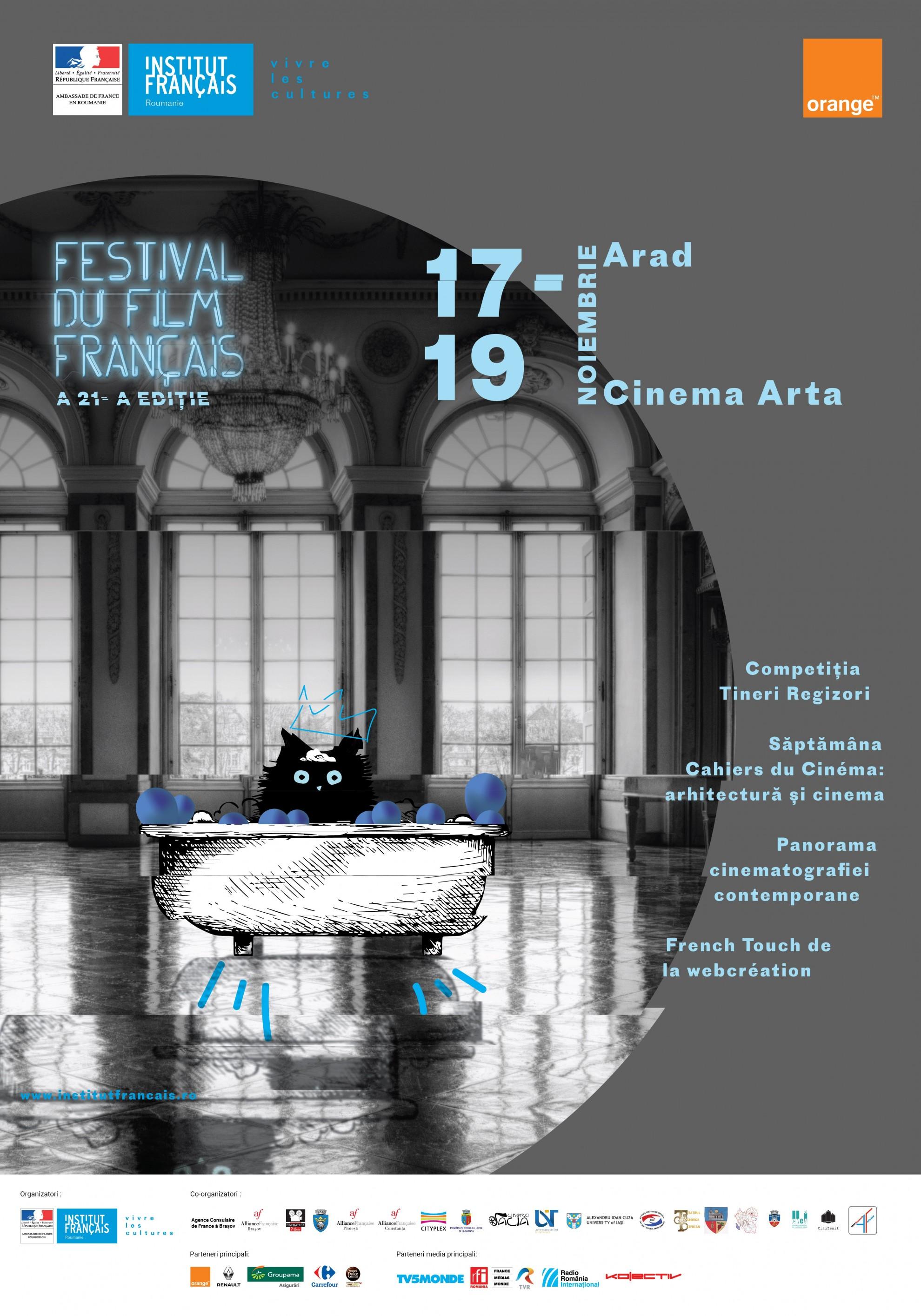 Festivalul Filmului Francez la Arad