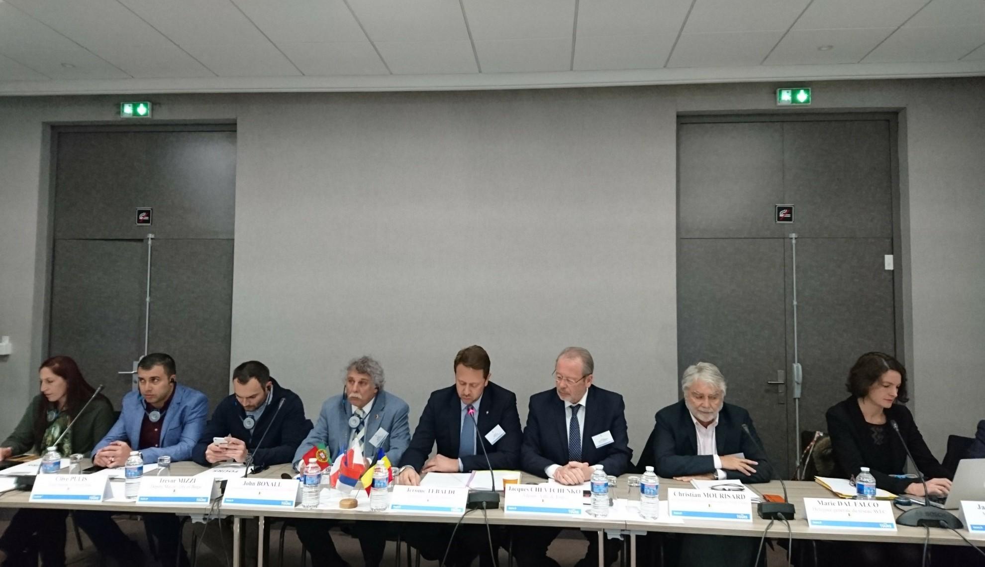 Aradul a fost reprezentat la reuniunea Consiliului de Administrație al Alianței Orașelor Culturale Europene (AVEC)