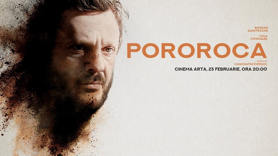 Filmul POROROCA va rula vineri, începând cu ora 20, la Cinema Arta.