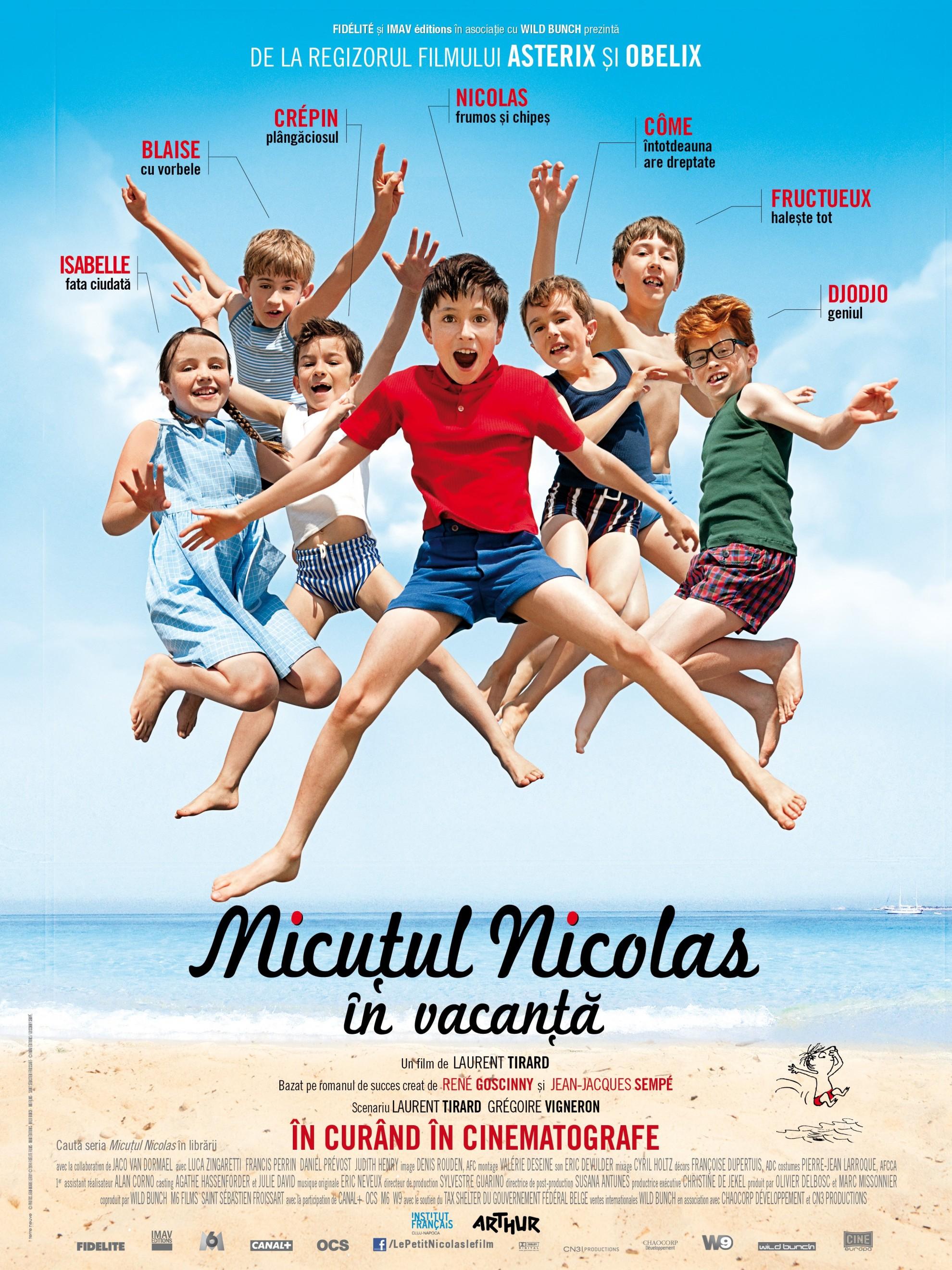 Micuțul Nicolas în vacanță, propunerea de sâmbătă pentru tinerii cinefili