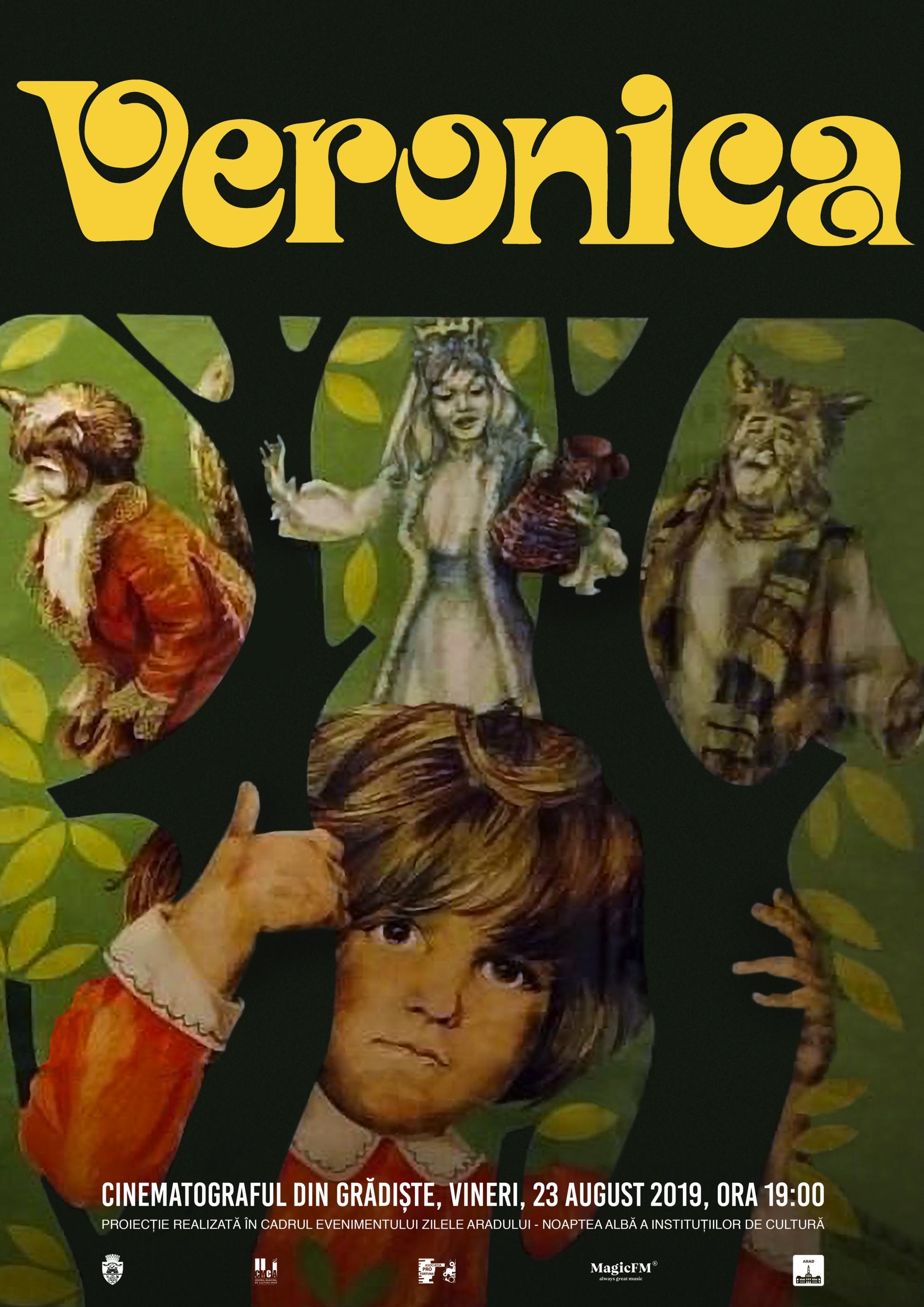 """Filmul """"Veronica"""", proiectat la Noaptea Albă a Instituțiilor de Cultură, la Cinematograful din Grădiște"""