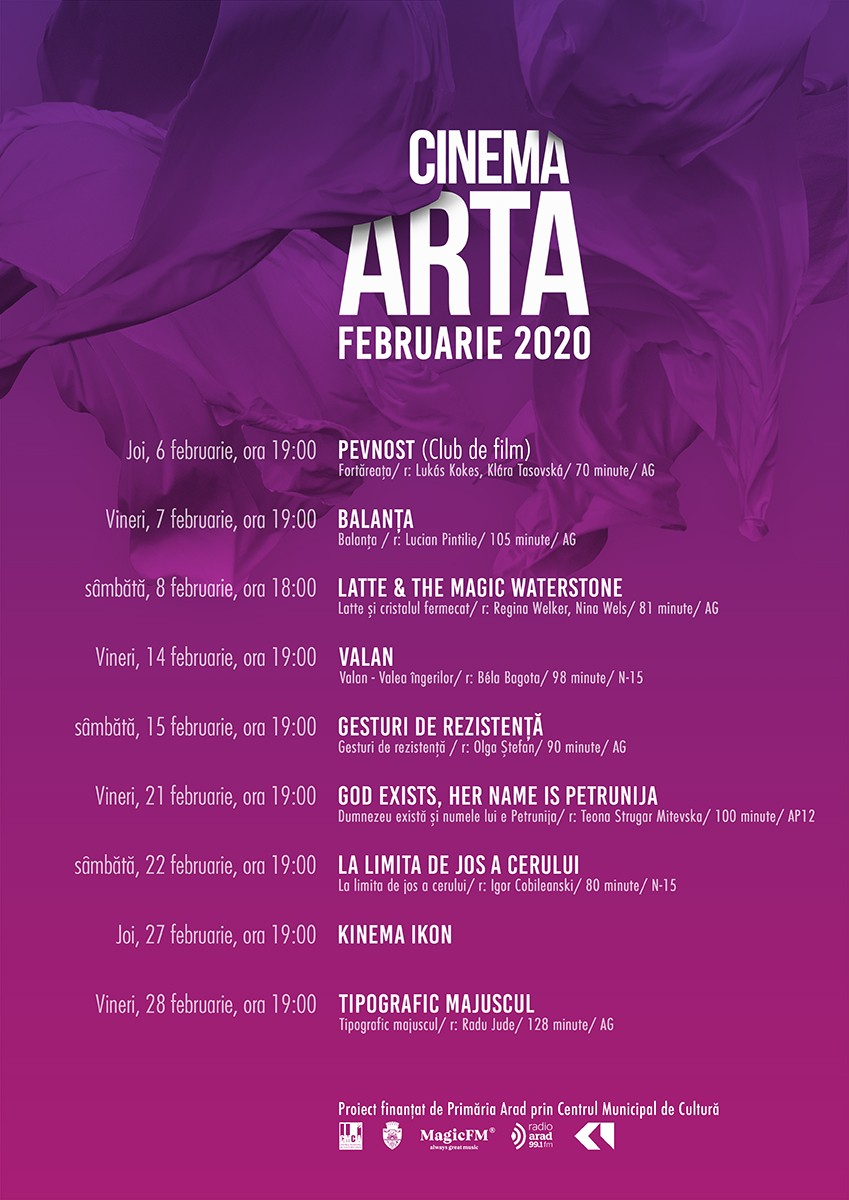 """Nouă filme la """"Arta"""" în februarie"""