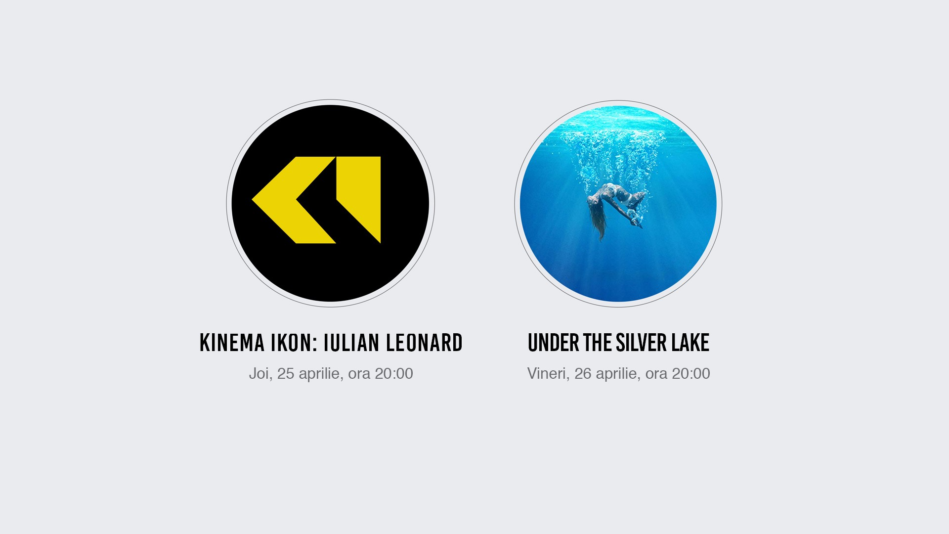 Filme experimentale și o premieră la cinema Arta