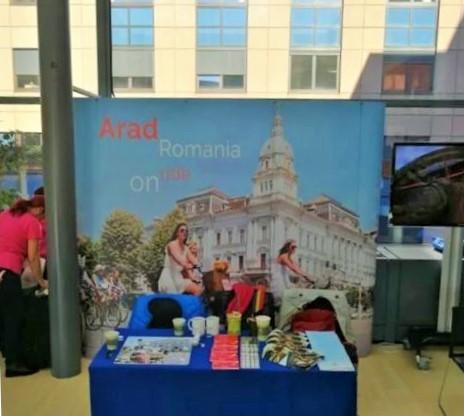 """Aradul, la """"Open Doors Day"""" la Comitetul Regiunilor de la Bruxelles"""