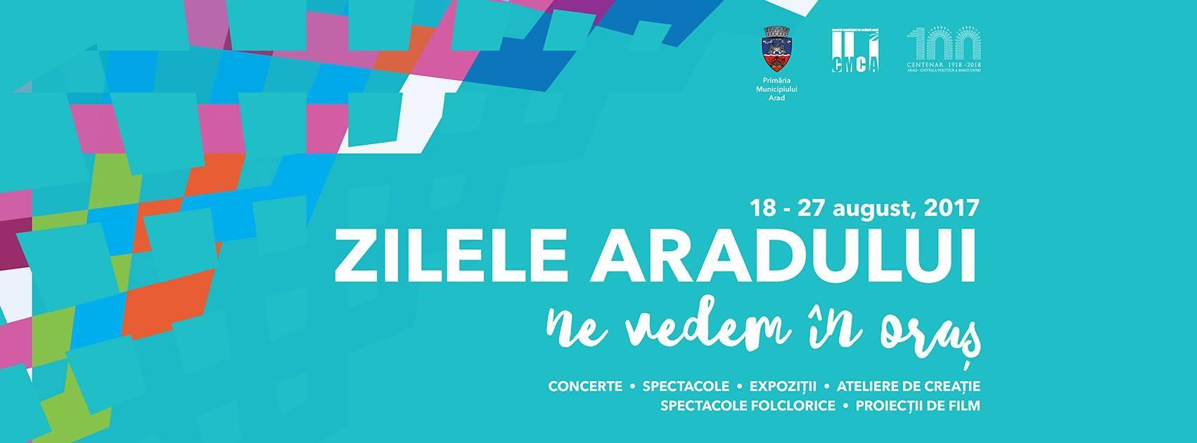 Zilele Aradului 2017 - Trei zile de evenimente în cartierele Alfa, Gai și Micălaca