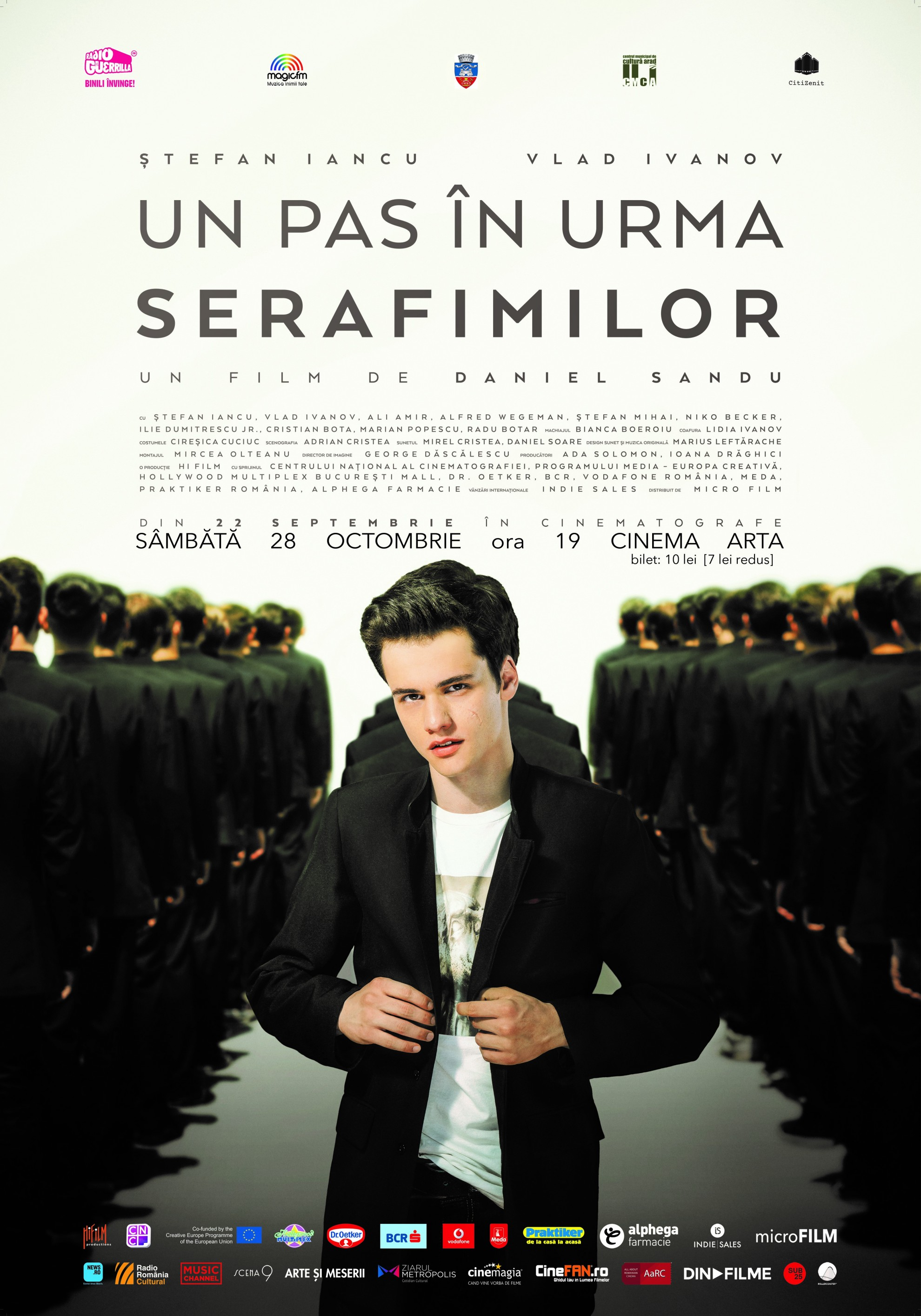 """One step after seraphim"" - at Cinema Arta"