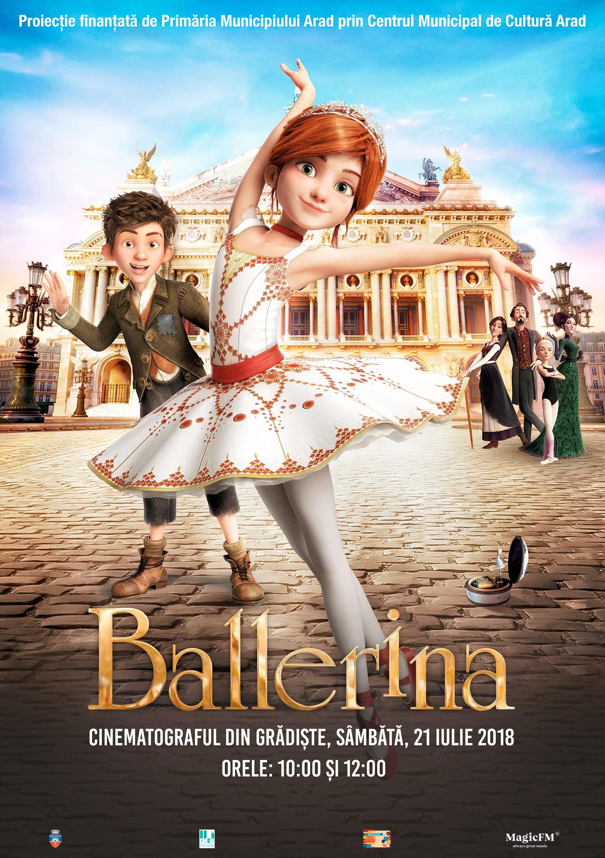 Balerina – filmul lunii iulie la Cinematograful din Grădiște