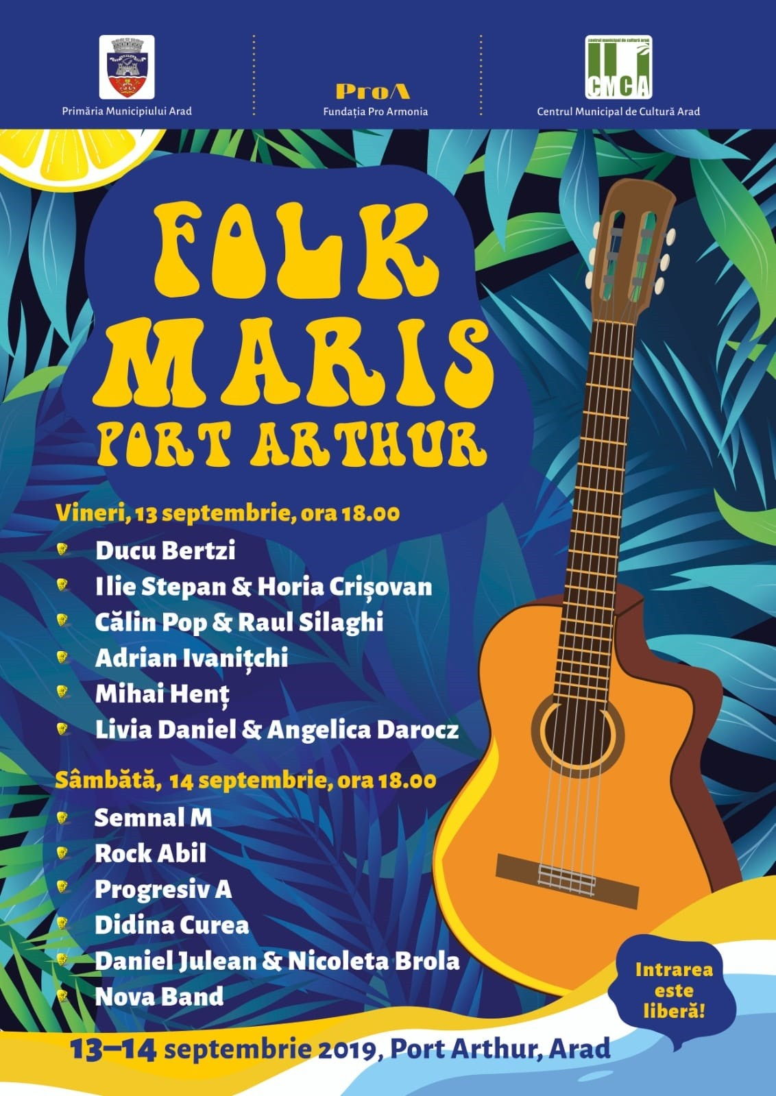 "Festivalul ""Folk Maris"" la Arad"