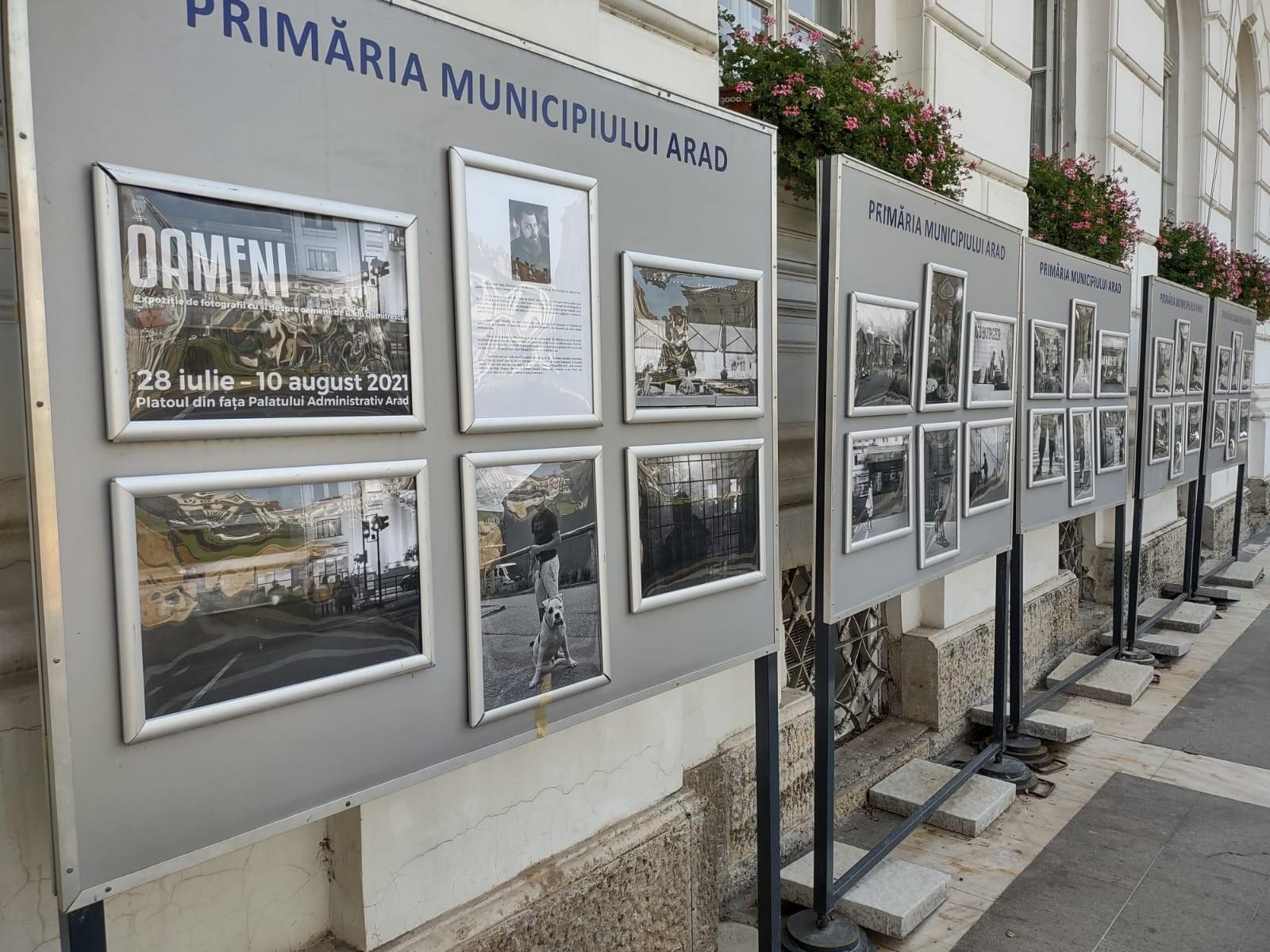 """""""Oameni"""". Expoziție de fotografie, pe platoul din fața Palatului Administrativ"""