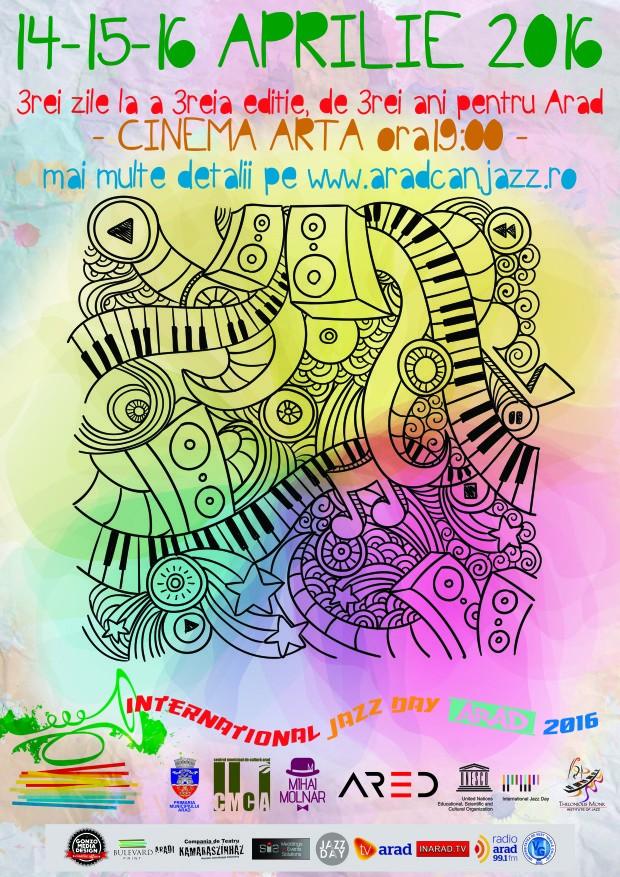 Zilele Jazzului (14-16 aprilie 2016)