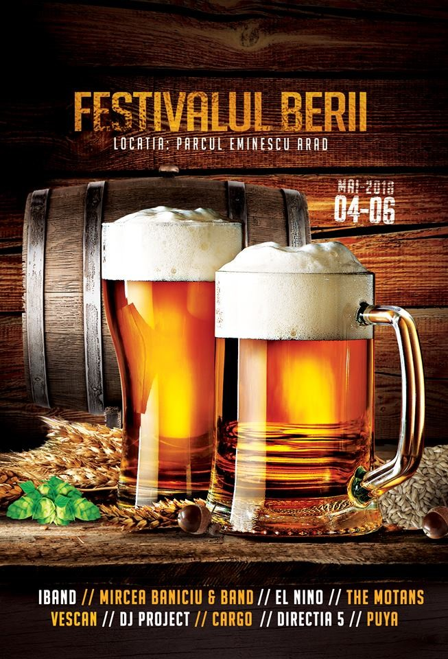 Începe Festivalul Berii. Se anunță un sfârșit de săptămână plin de distracție!