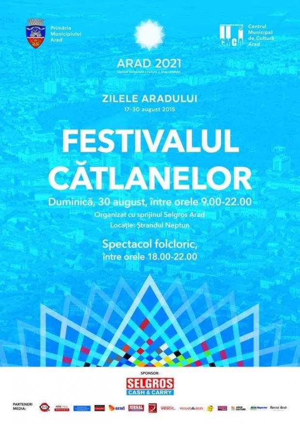 Gătim din nou la Zilele Aradului- Festivalul Cătlanelor 2015