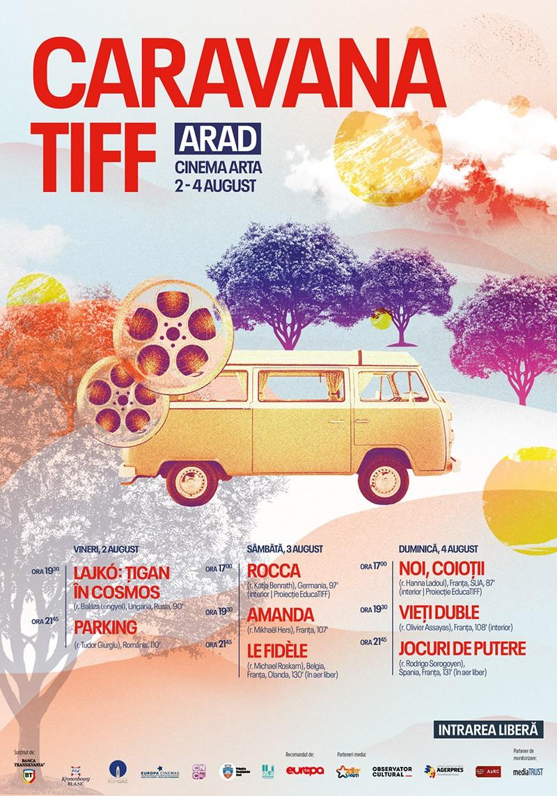 Caravana TIFF aduce 8 filme de excepție la Arad  în primul weekend de august