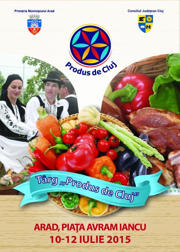 Târgul Produs de Cluj la Arad