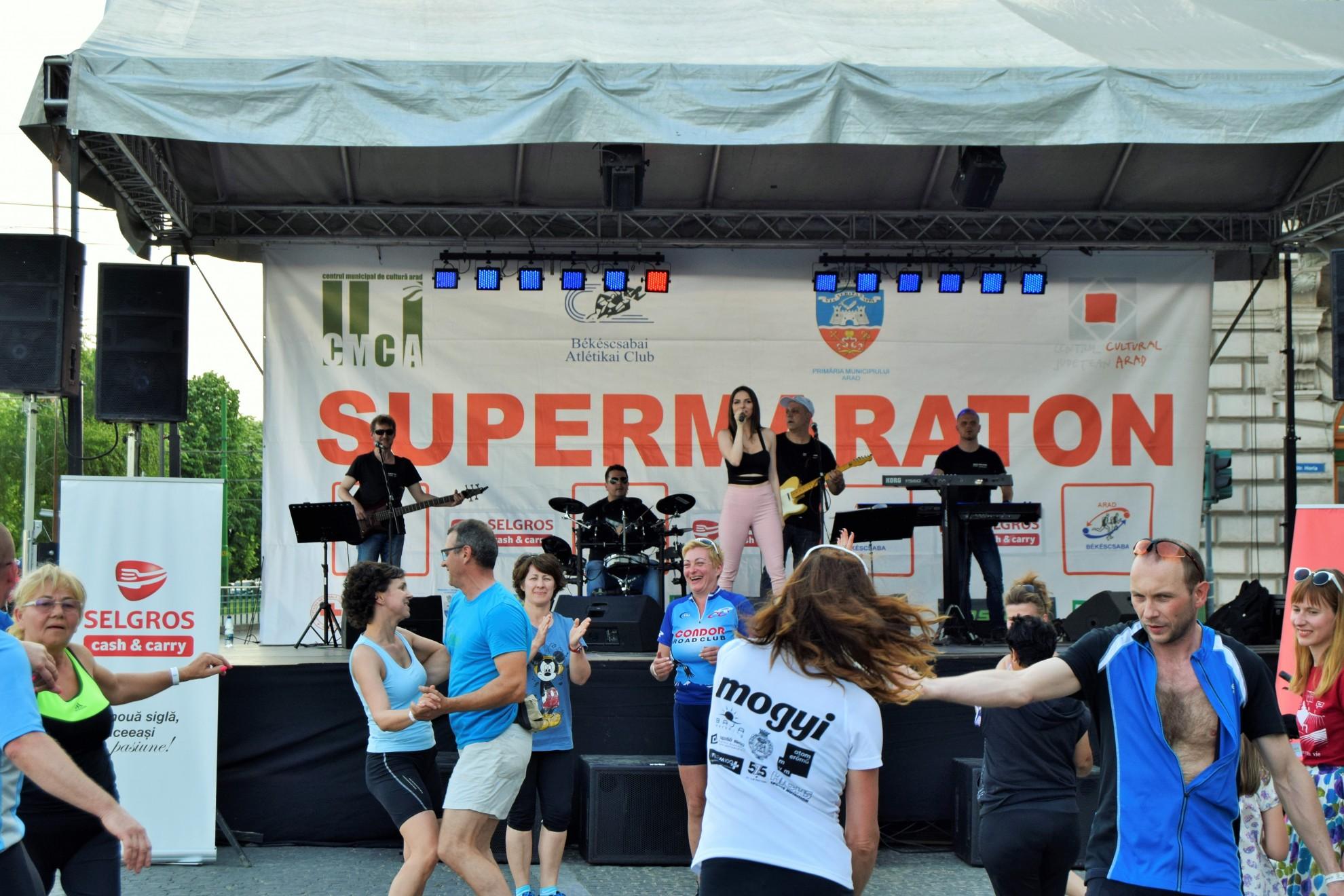 Supermaratonul Granițe deschise Arad-Békéscsaba-Arad, ediția a XX-a