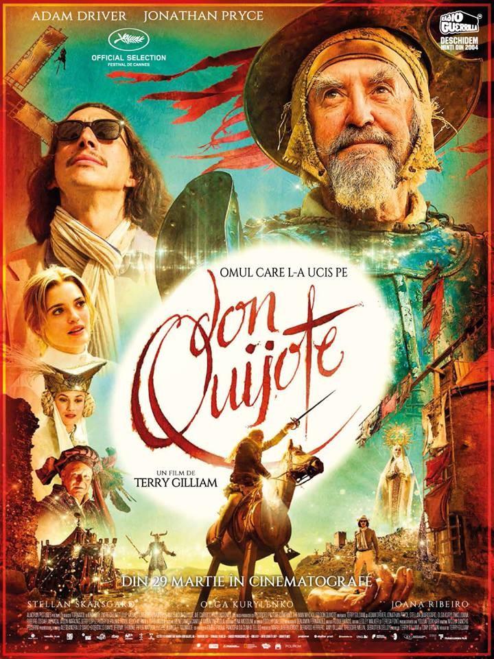 """Omul care l-a ucis pe Don Quijote"" ajunge la cinema Arta"