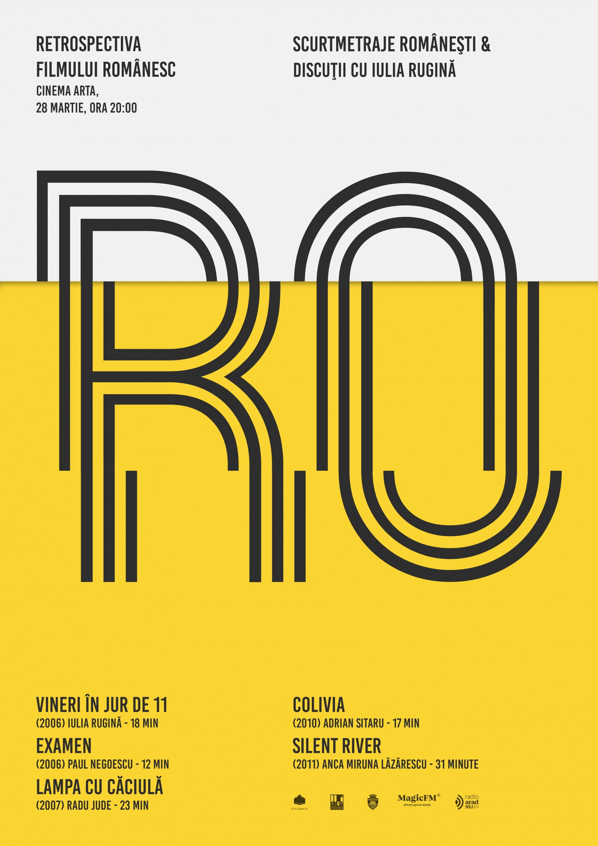 Retrospectiva Filmului Românesc, la cinematograful Arta