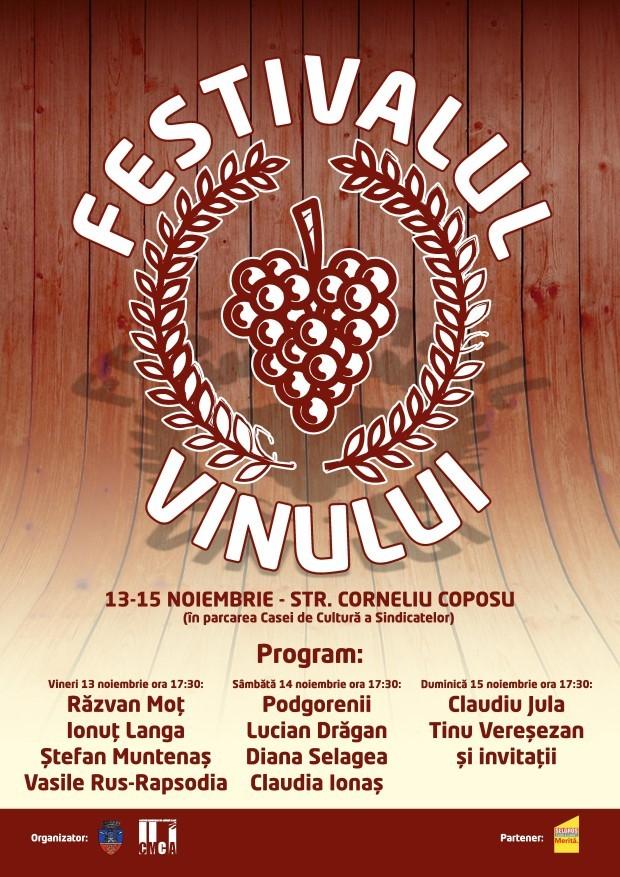 Festivalul vinului – locul potrivit și anotimpul potrivit!